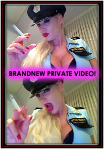 Diva Bizarre Fetish Video Update with Smoking Fetish and Tease & Denial